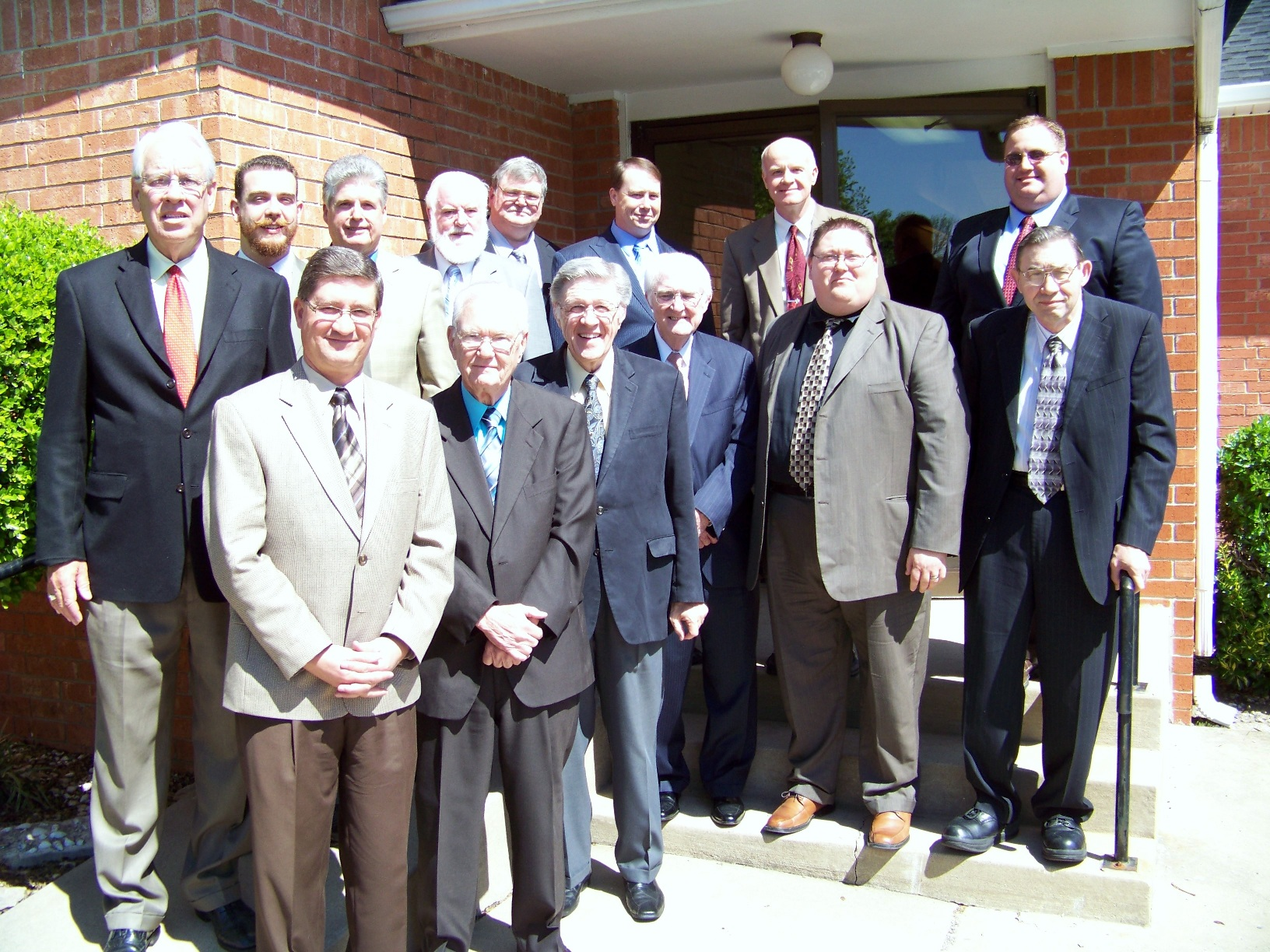 Preachers at the Claremore Bible conference